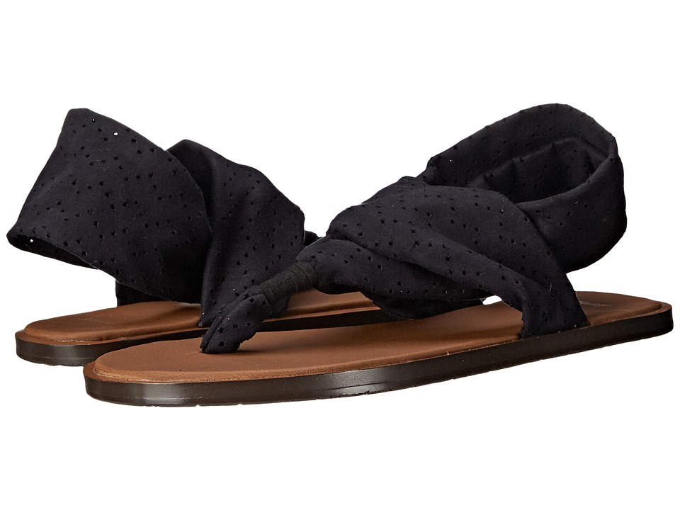 Sanuk - Yoga Devine (Black) Women's Sandals
