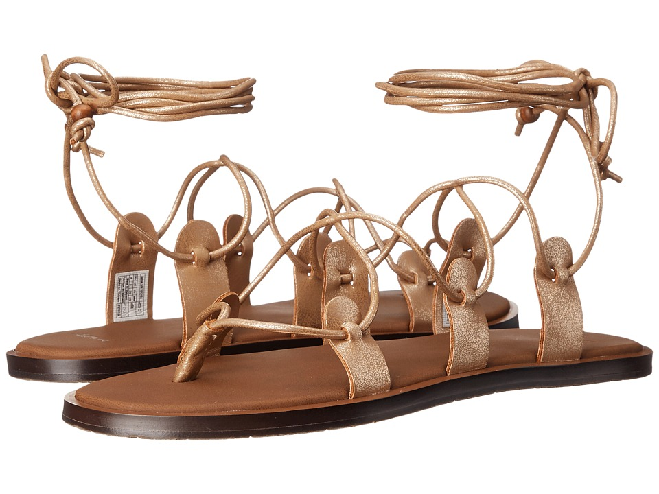Sanuk - Yoga Cleopatra (Rose Gold) Women's Sandals