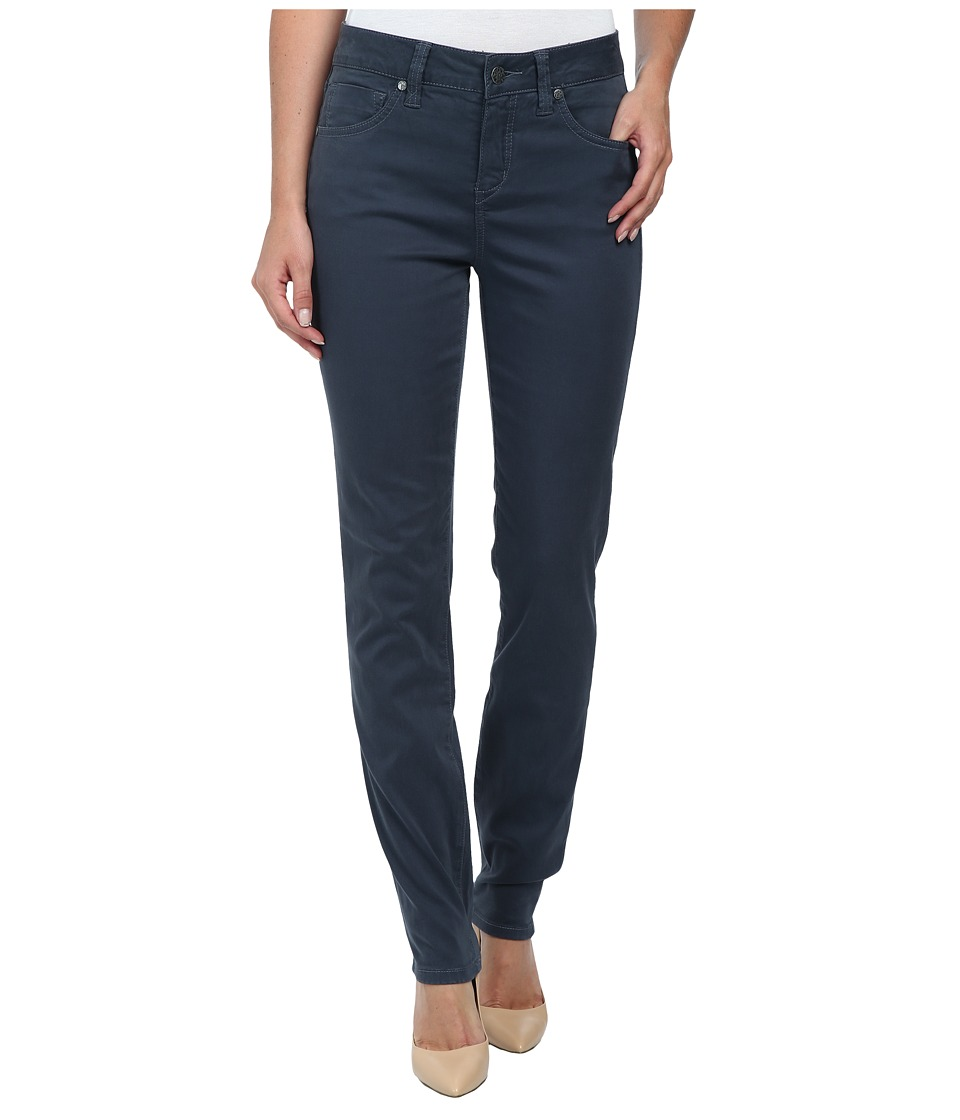Miraclebody Jeans - Rikki 5 Pocket Skinny Sueded Sateen (Slate Grey) Women's Casual Pants
