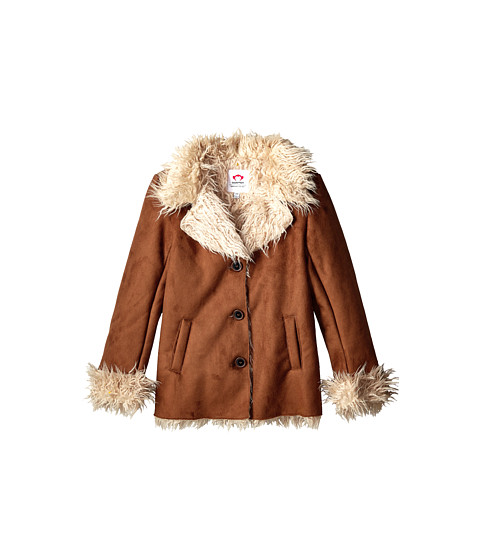 Appaman Kids - Shearling Coat (Toddler/Little Kids/Big Kids) (Brown) Girl's Coat