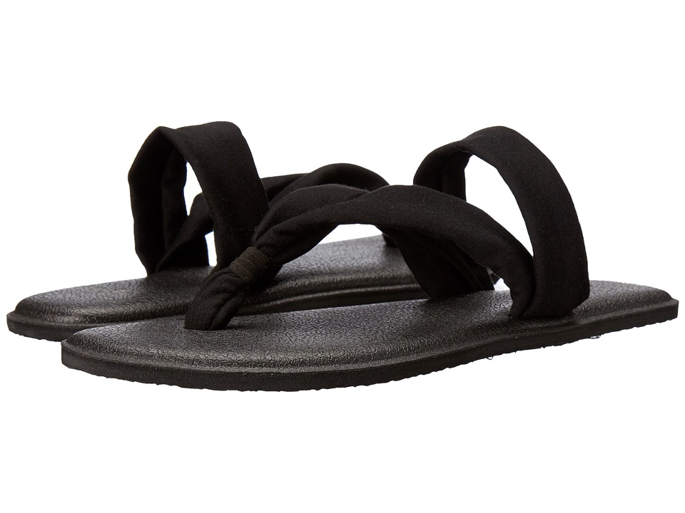 Sanuk - Yoga Triangle (Black) Women's Sandals