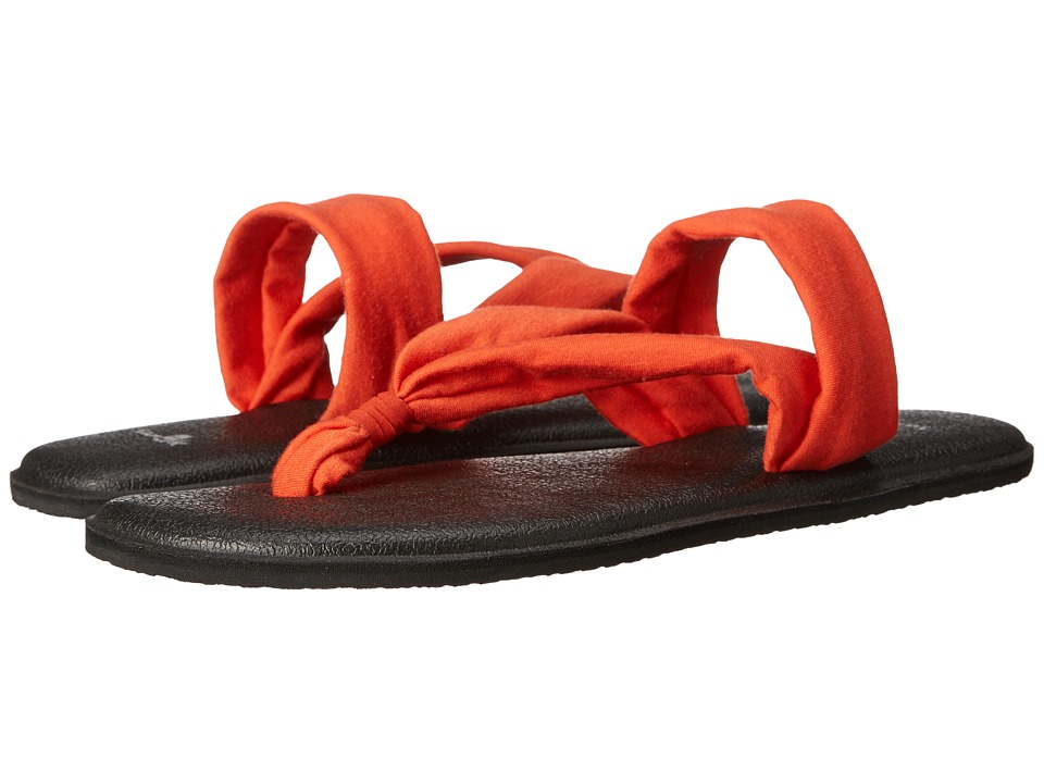 Sanuk - Yoga Triangle (Flame) Women's Sandals
