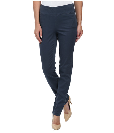 Miraclebody Jeans - Janis Pull-On Tapered Sueded Sateen (Slate Grey) Women