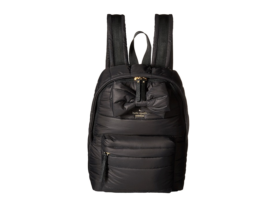 Kate Spade New York - Colby Court Reid (Black) Backpack Bags