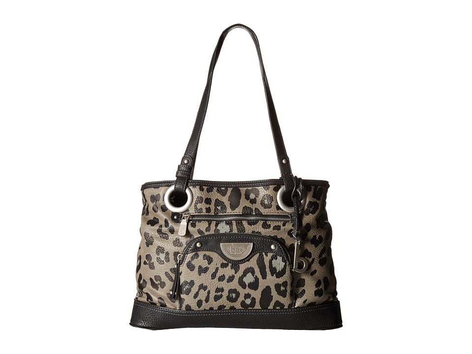 b.o.c. - Howland Tote (Grey/Black/Animal) Tote Handbags