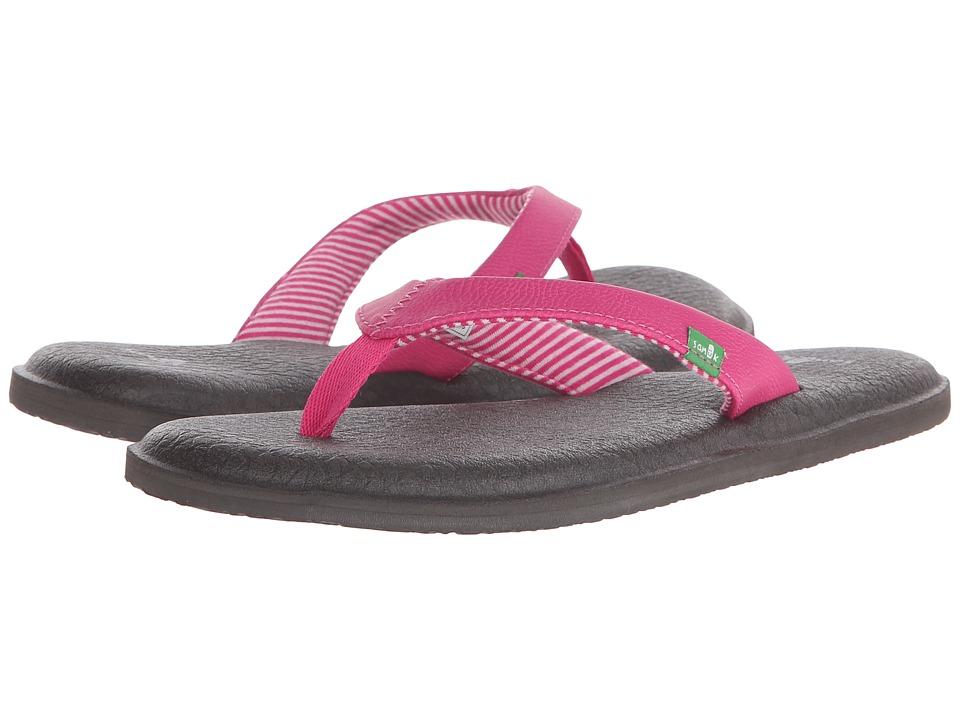 Sanuk - Yoga Chakra (Fuchsia) Women's Sandals