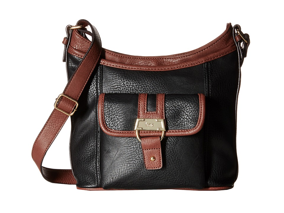 b.o.c. - Auburn Scoop Large Crossbody (Black) Cross Body Handbags