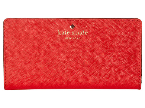 Kate Spade New York - Cedar Street Stacy (Cherry Liqueur) Wallet