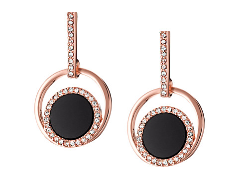 Kate Spade New York - In the Spotlight Drop Earrings (Black/Multi) Earring