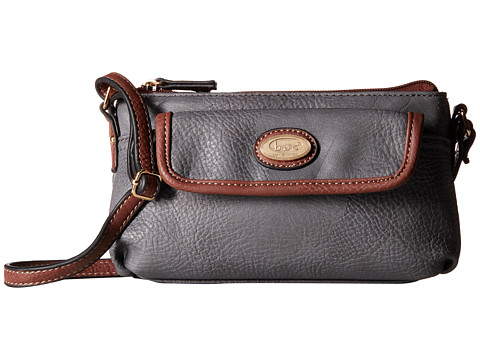b.o.c. - Danford Mini Crossbody (Grey) Cross Body Handbags