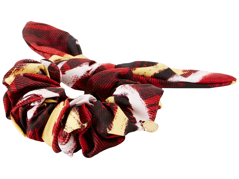 Marc by Marc Jacobs - Printed Bunny Scrunchie (Chalky Tartan Print) Hair Accessories