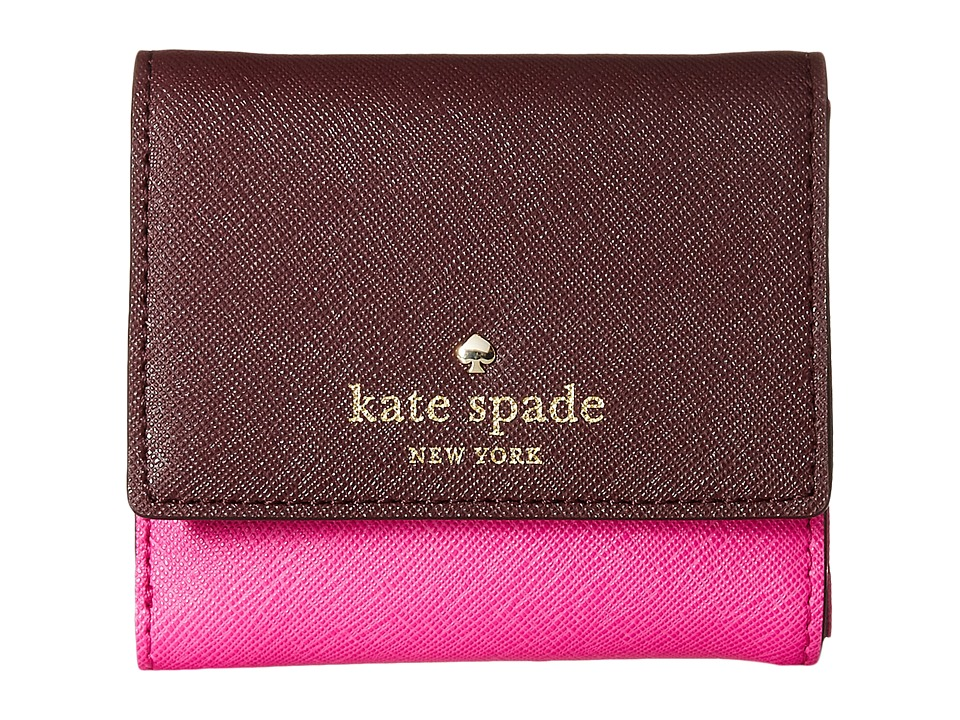 Kate Spade New York - Cedar Street Tavy (Mulled Wine/Vivid Snapdragon) Wallet