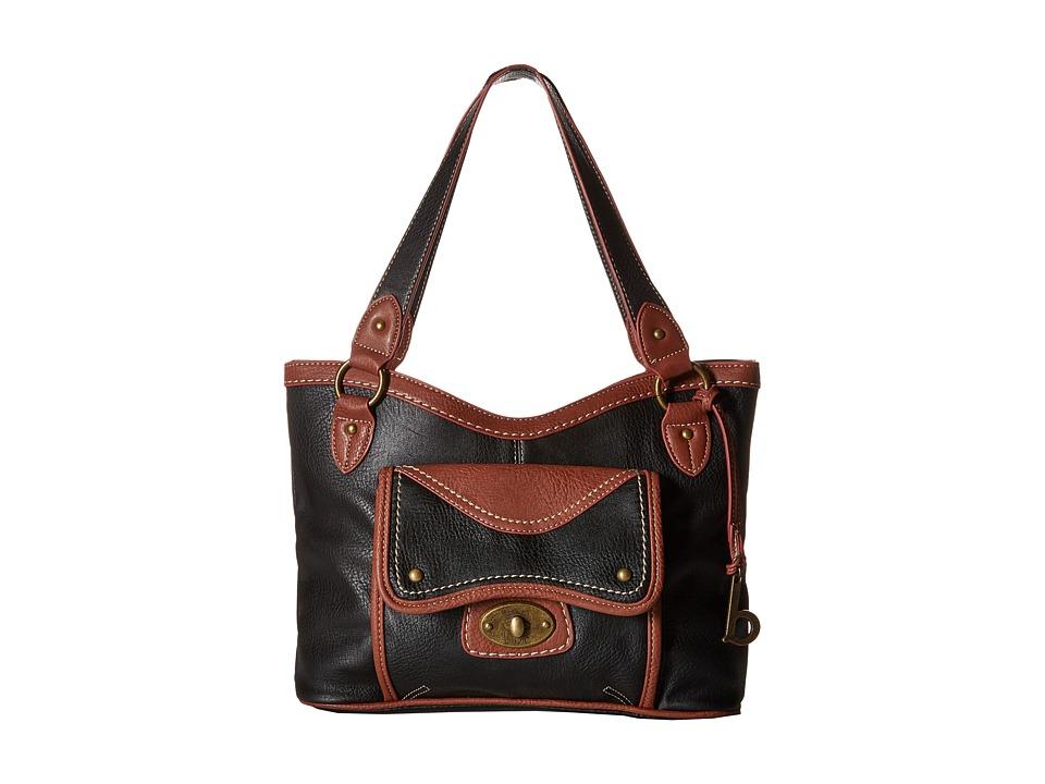 b.o.c. - Falmouth Tote (Black) Tote Handbags