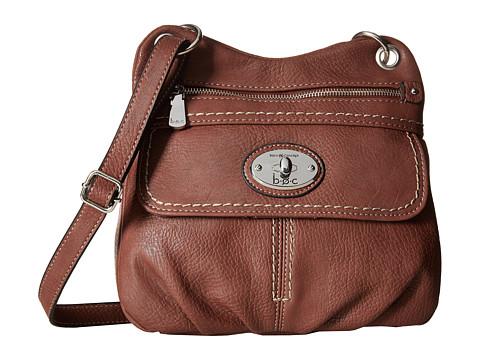 b.o.c. - Berwick Front Pocket Crossbody (Walnut) Cross Body Handbags