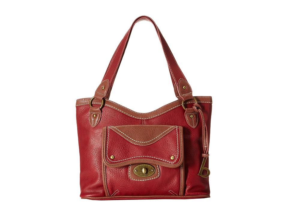 b.o.c. - Falmouth Tote (Burgundy) Tote Handbags