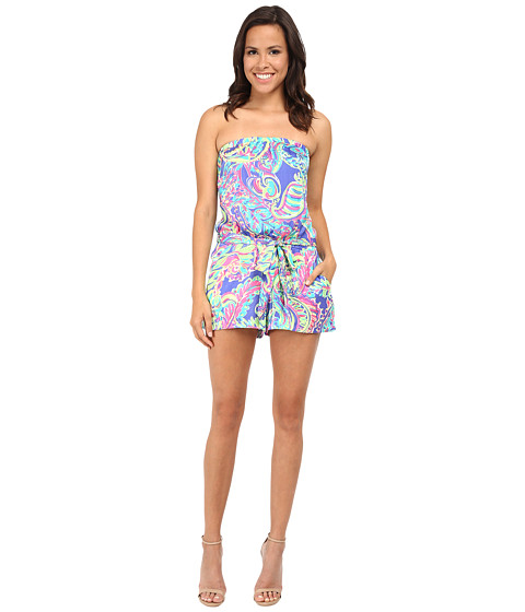 Lilly Pulitzer - Ritz Romper (Multi Toucan Play) Women's Jumpsuit & Rompers One Piece