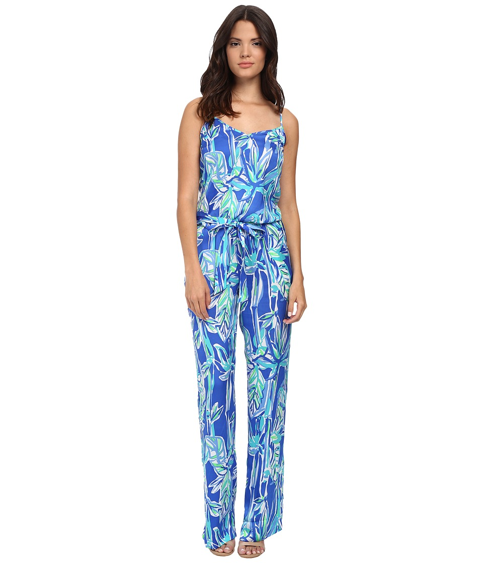 Lilly Pulitzer - Deanna Jumpsuit (Blue Crush Bamboom) Women's Jumpsuit & Rompers One Piece