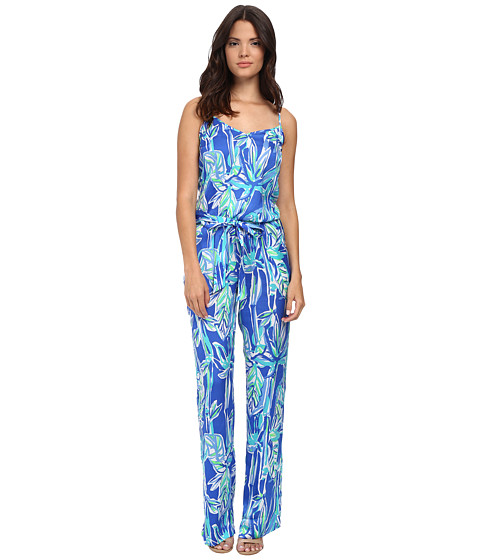 Lilly Pulitzer - Deanna Jumpsuit (Blue Crush Bamboom) Women