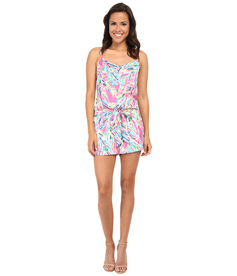 Lilly Pulitzer - Deanna Romper (Multi Palm Reader) Women