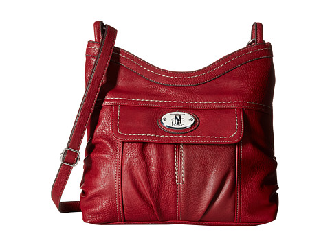 b.o.c. - Berwick Top Zip Crossbody (Burgundy) Cross Body Handbags