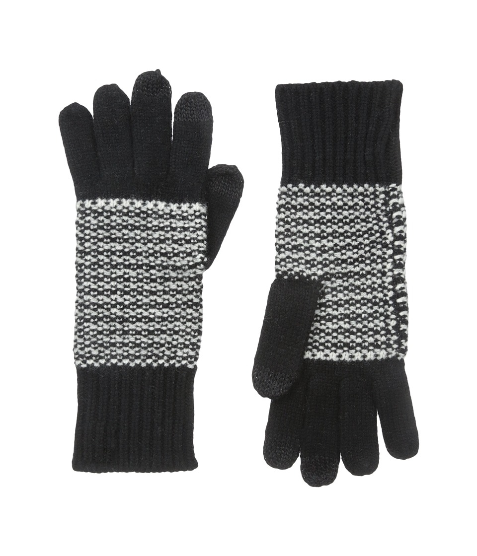 Marc by Marc Jacobs - Banner Gingham Glove (Black Multi) Dress Gloves