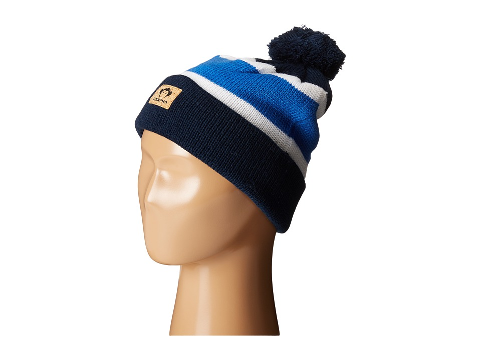 Appaman Kids - Football Hat - Single Pack (Infant/Toddler/Little Kid/Big Kid) (Strong Blue) Beanies