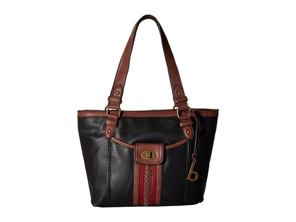 b.o.c. - Islesport Tote (Black/Walnut/Burgundy) Tote Handbags