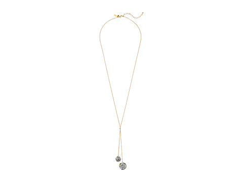 Kate Spade New York - Disco Fever Y Necklace (Silver/Multi) Necklace