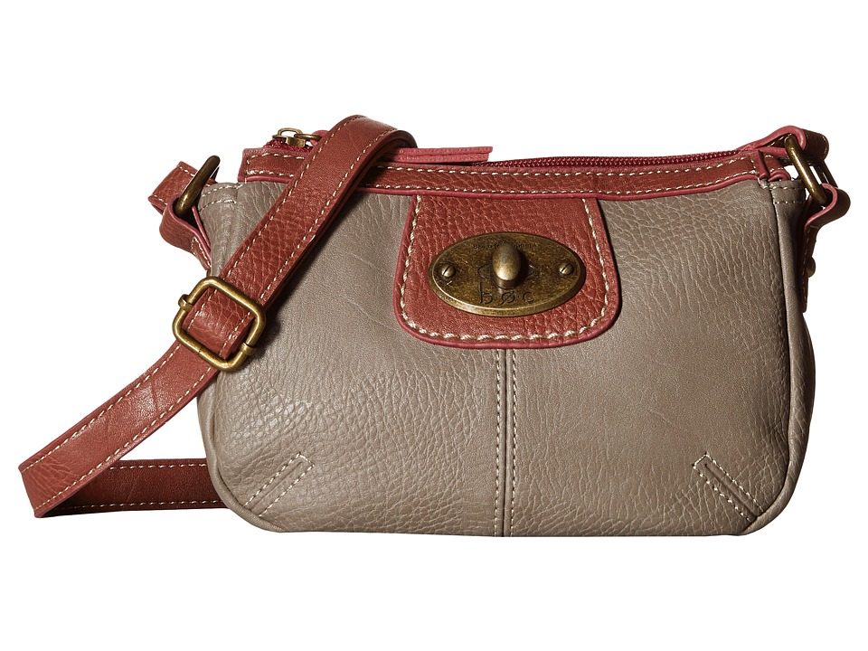 b.o.c. - Falmouth Crossbody (Grey) Cross Body Handbags