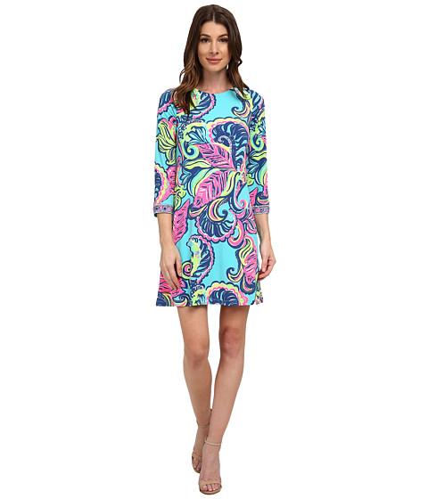 Lilly Pulitzer - Bellavista Dress (Sea Blue Private Island) Women