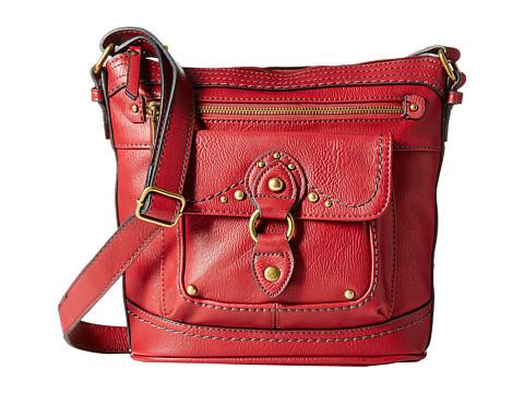 b.o.c. - Sanford Crossbody (Burgundy) Cross Body Handbags