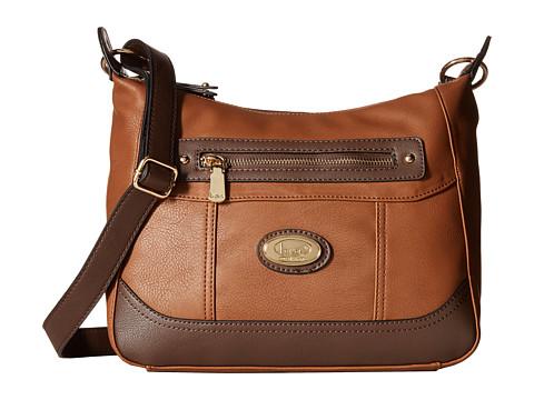 b.o.c. - Brookton Crossbody (Walnut) Cross Body Handbags
