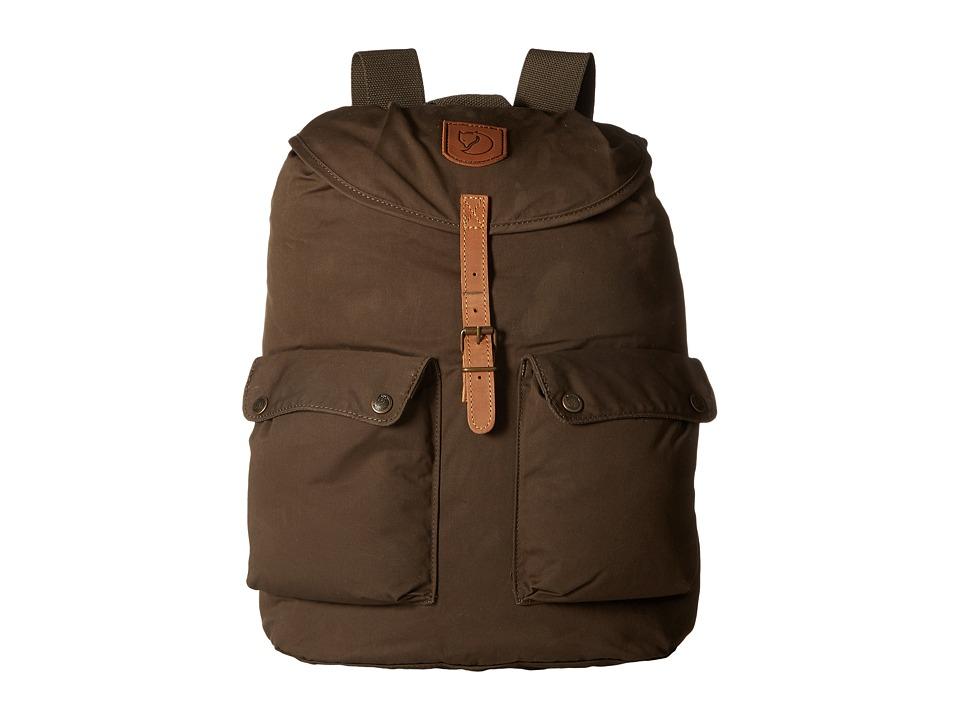 Fj llr ven - Greenland Backpack Large (Dark Olive) Backpack Bags