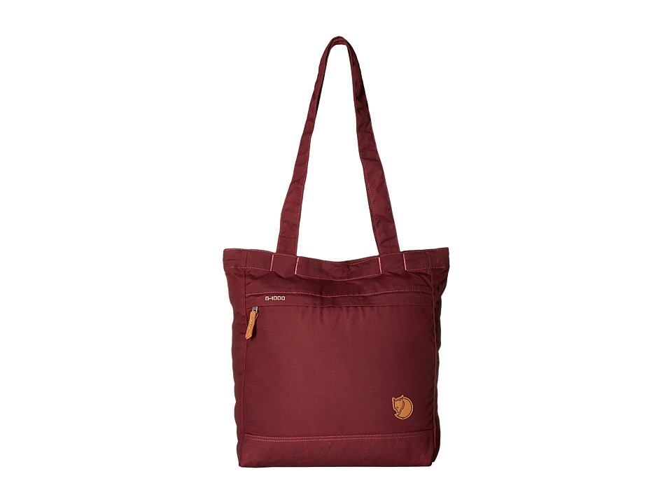 Fj llr ven - Totepack No.3 (Dark Garnet) Backpack Bags