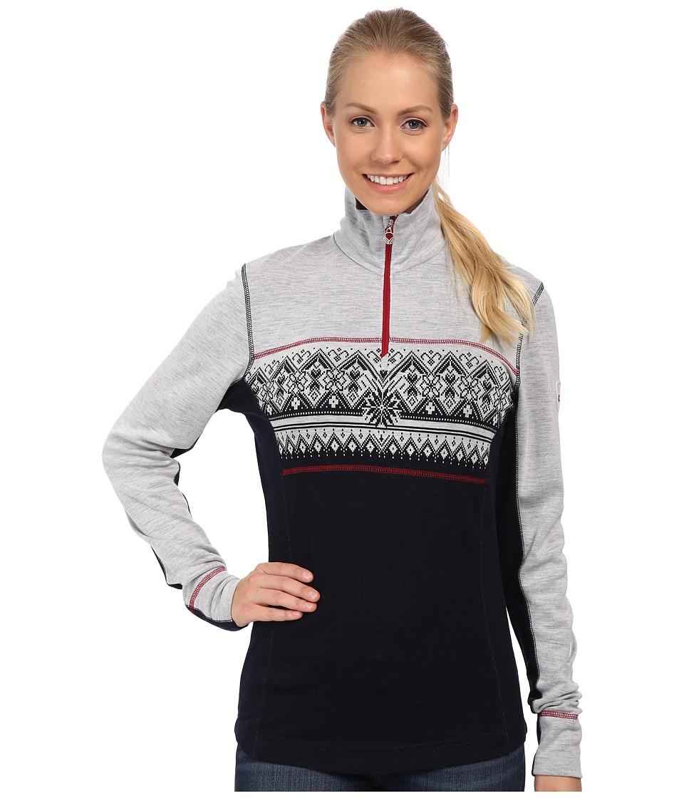 Dale of Norway - Rondane Feminine (Navy/White Mel/Raspberry) Women's Sweater
