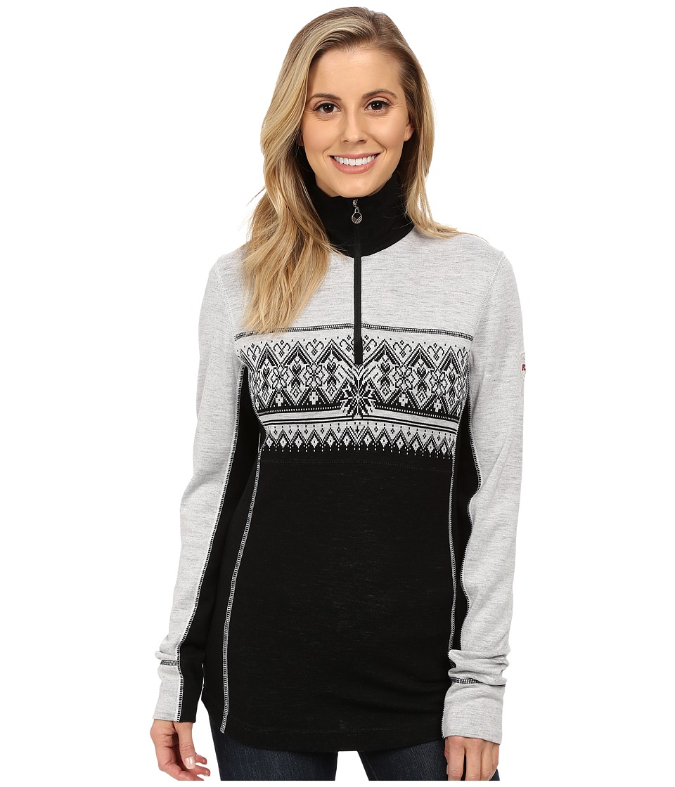 Dale of Norway - Rondane Feminine (Black/White Mel) Women's Sweater