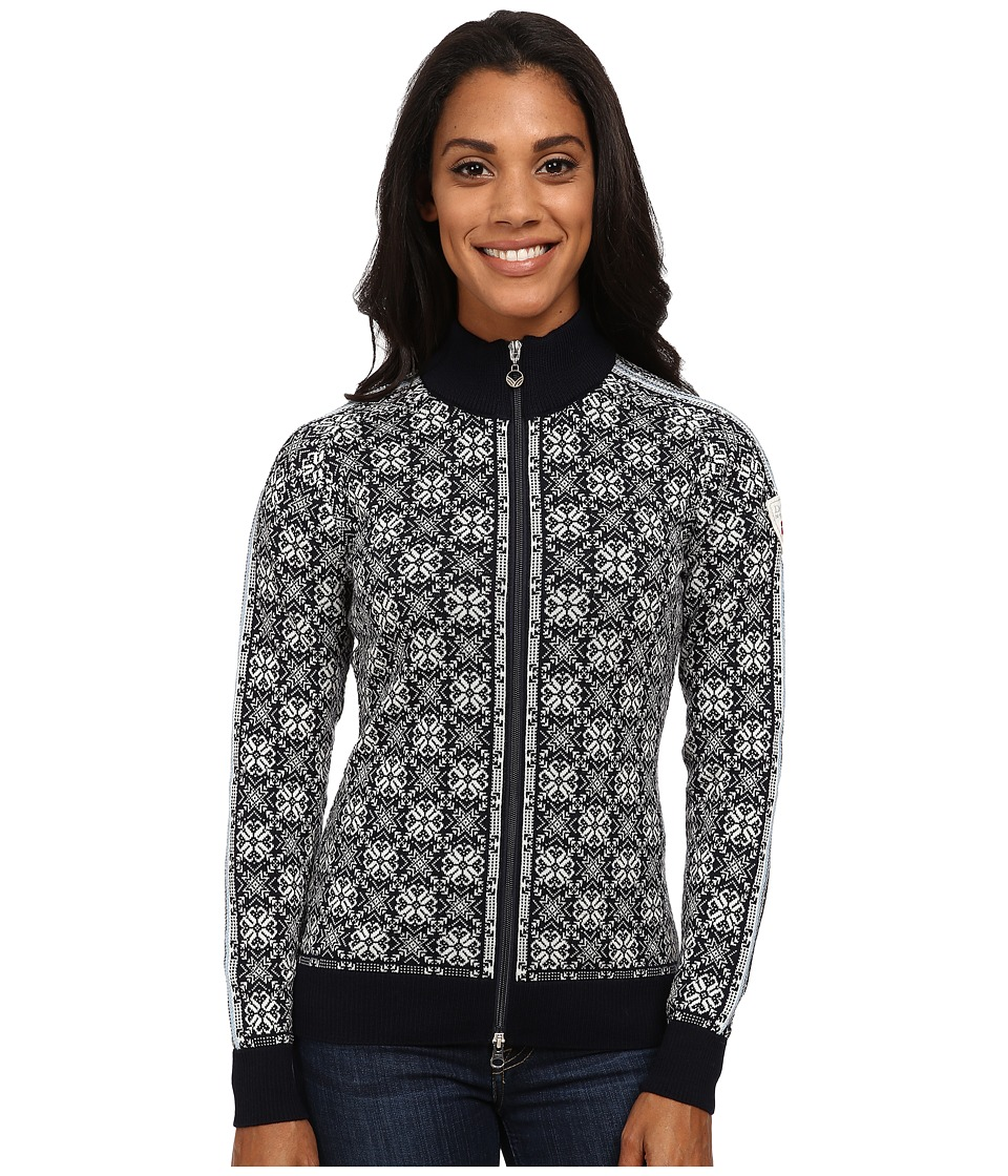 Dale of Norway - Frida (Navy/Off White/Grey Mel/Ice Blue) Women's Sweater