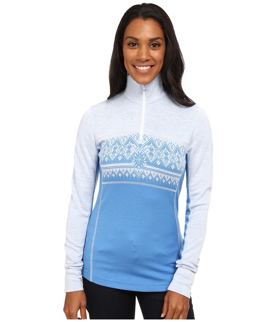 Dale of Norway - Rondane Feminine (Sky Blue/White Mel) Women's Sweater