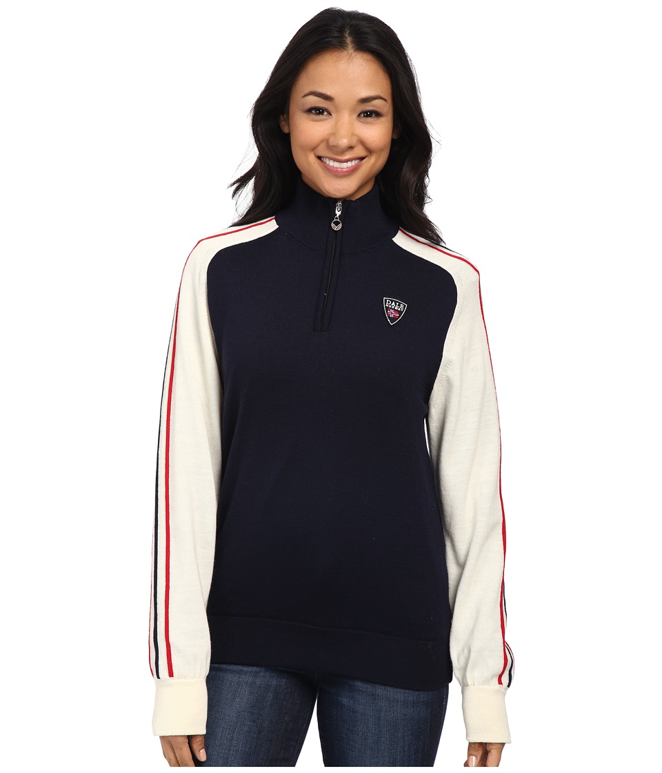 Dale of Norway - Flagg Feminine (Navy/Raspberry/Off White) Women's Sweater