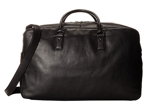 Marc by Marc Jacobs - Classic Leather Weekender (Black 2) Weekender/Overnight Luggage