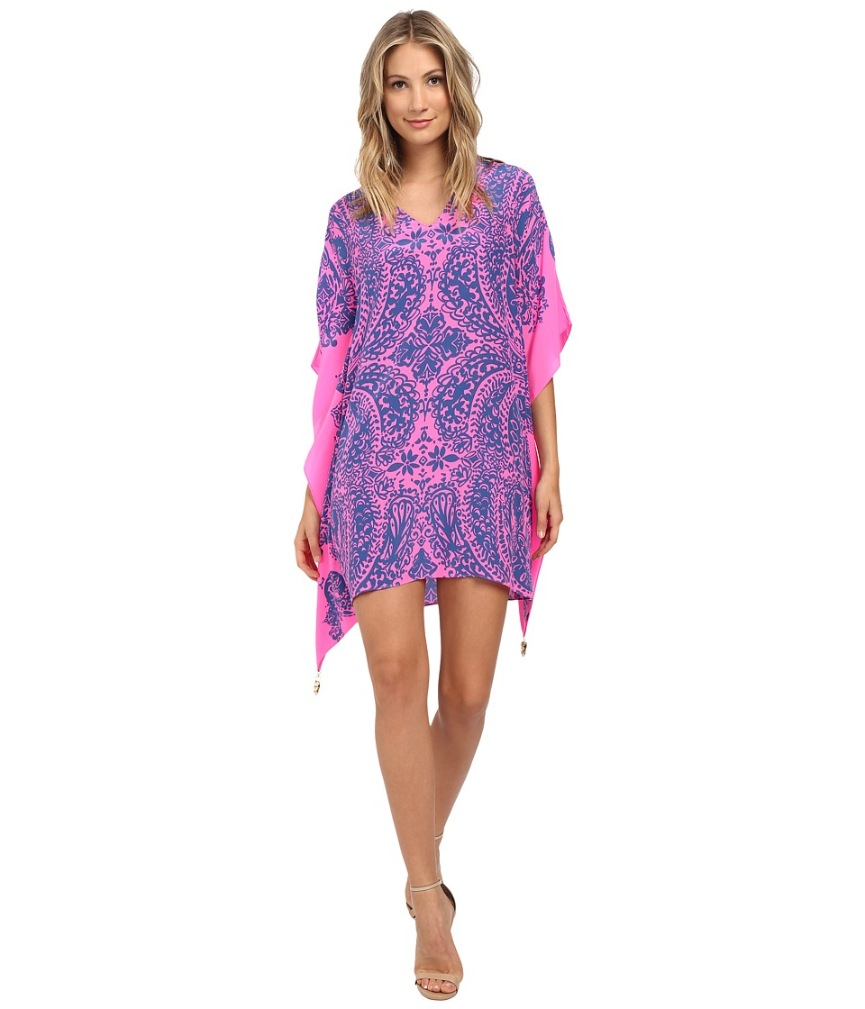 Lilly Pulitzer - Lindamarie Caftan (Tropical Pin Elephantino Engineered) Women's Clothing
