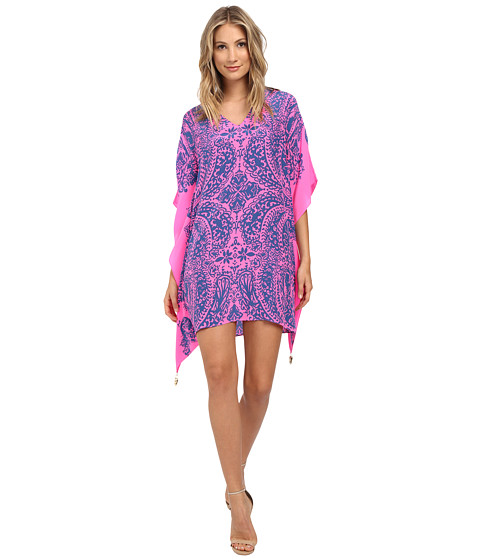 Lilly Pulitzer - Lindamarie Caftan (Tropical Pin Elephantino Engineered) Women