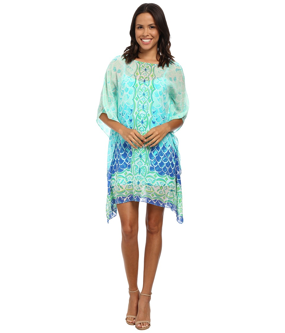 Lilly Pulitzer - Lindamarie Caftan (Multi Scale Back Engineered) Women's Dress