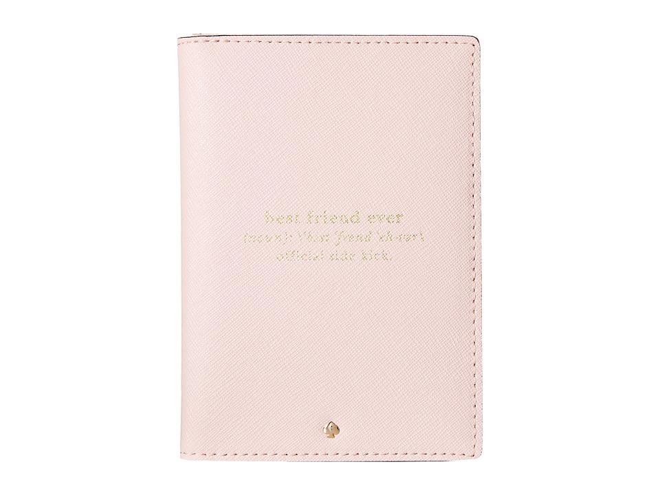 Kate Spade New York - Wedding Belles Travel Passport Holder (Rosy Dawn) Wallet