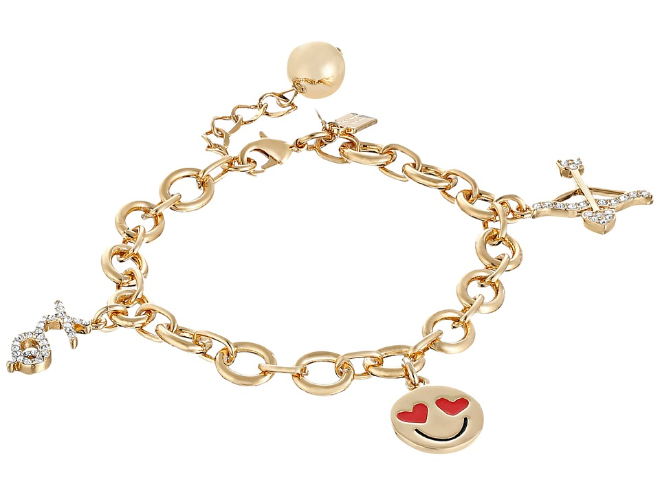 Kate Spade New York - How Charming Valentines Day Charm Bracelet (Multi) Charms Bracelet