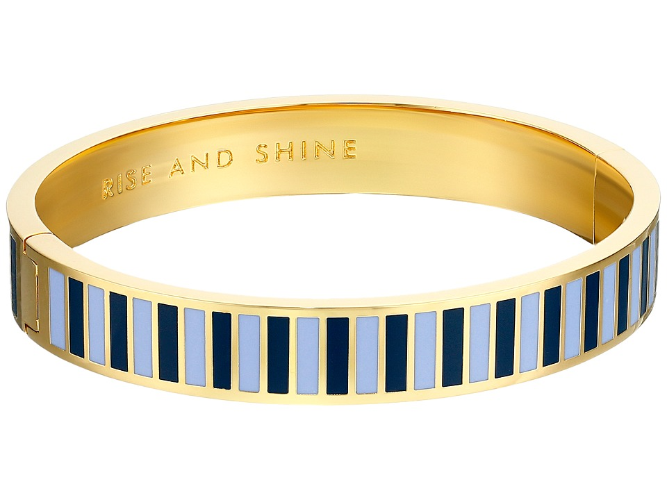 Kate Spade New York - Rise and Shine Hinged Idiom Bangle (Blue/Multi) Bracelet