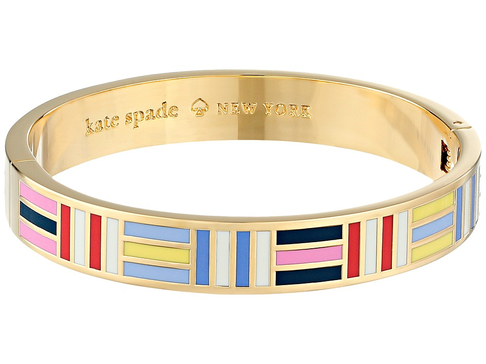 Kate Spade New York - Born to Fly Hinged Idiom Bangle (Multi) Bracelet