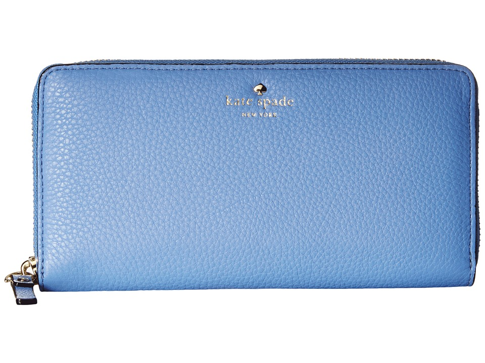 Kate Spade New York - Cobble Hill Lacey (Vista Blue) Wallet Handbags