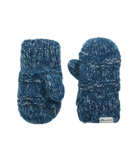 Appaman Kids - Mittens - Single Pack (Infant/Toddler/Little Kid/Big Kid) (Ink Blue Melange) Over-Mits Gloves