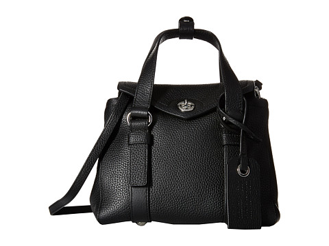 Marc by Marc Jacobs - Working Girl Leather Dolly Satchel Mini (Black) Satchel Handbags